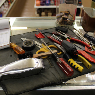 Clipper Repair tools from Supply Shop